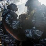 Massgripanden efter demonstrationer i Ryssland och Belarus
