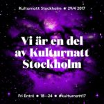 Ordfront på Kulturnatten 29 april